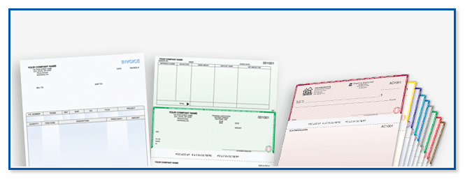 Software compatible check printing for government agencies
